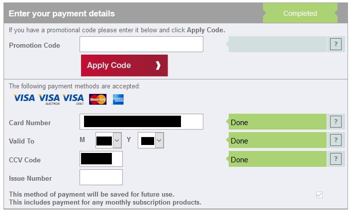 verifici credit score introdu datele de pe card