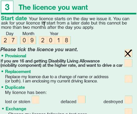 permis provizoriu uk completare aplicatie 3