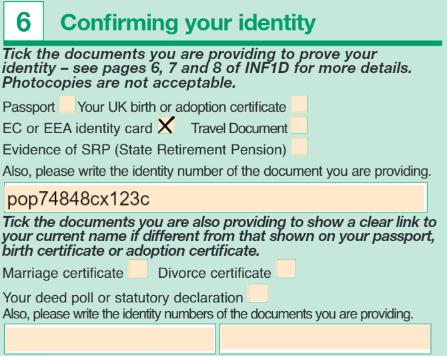 permis provizoriu uk completare aplicatie 7